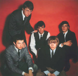 The Yardbirds line-up from 1963 to 1965